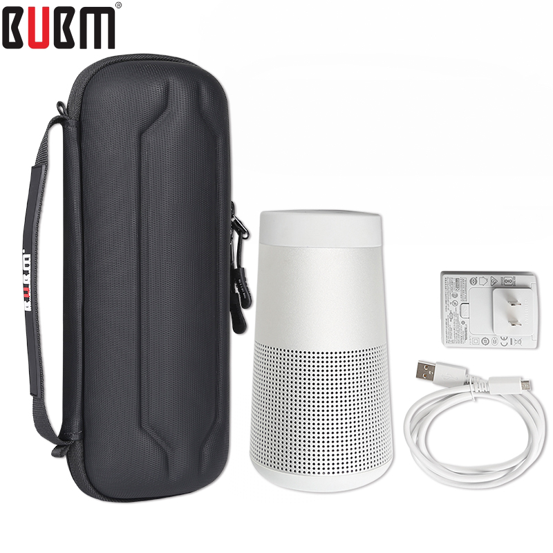 BUBM Bag For Bose Soundlink Revolve Bluetooth Headset Speaker Carrying Bag Sound Receiving Bag