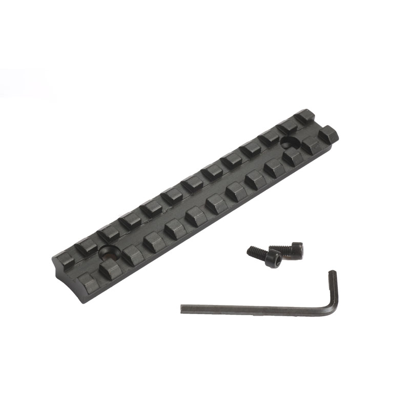 124.5mm Screws Curve Rifle Scope Picatinny Round Bottom  20mm Weaver Rail Mount Base For Install Scope Hunting Caza