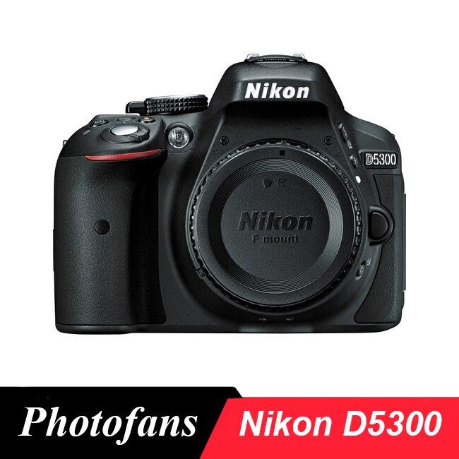 Nikon D5300 DSLR Della Macchina Fotografica-24.2MP-Video-ad Angolazione variabile LCD-WiFi (Brand New)