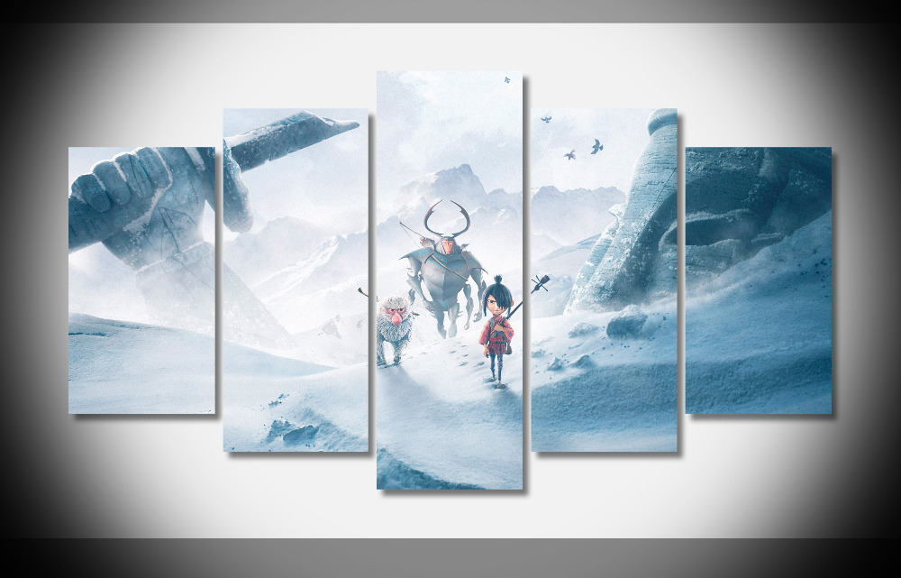 6957 Kubo And The Two Strings 2016 Movie Poster Animation WallpapersByte poster Framed Gallery wrap art print home wall decor