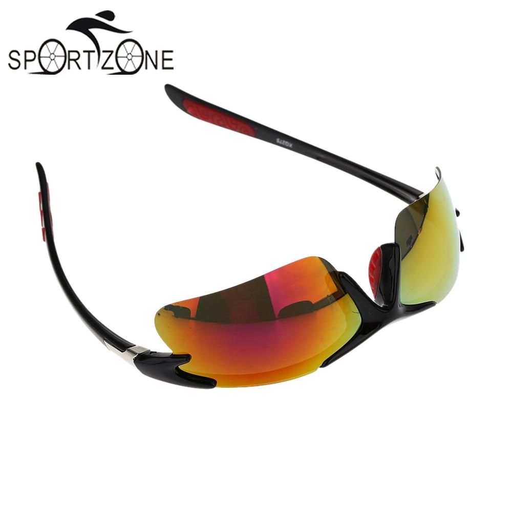 Prix pour Polarisées Vélo lunettes de Soleil Lunettes de Sécurité lunettes de Vélo Équitation Lunettes Meilleure Qualité Universel + Boîte De Stockage Chiffon De Nettoyage