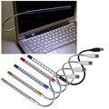 Produto Mini Portátil Flexível 10 LEDs Luz USB Lâmpada de leitura para Laptop Notebook PC Computador Desktop Teclado Do Computador