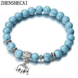 2018 браслет Классические Акриловые Синие браслеты из бисера для мужчин и женщин лучший друг популярный A56