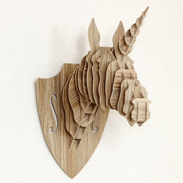 Unicorn Head Wall Decor crafts wallpaper picture - more detailed picture about unicorn
