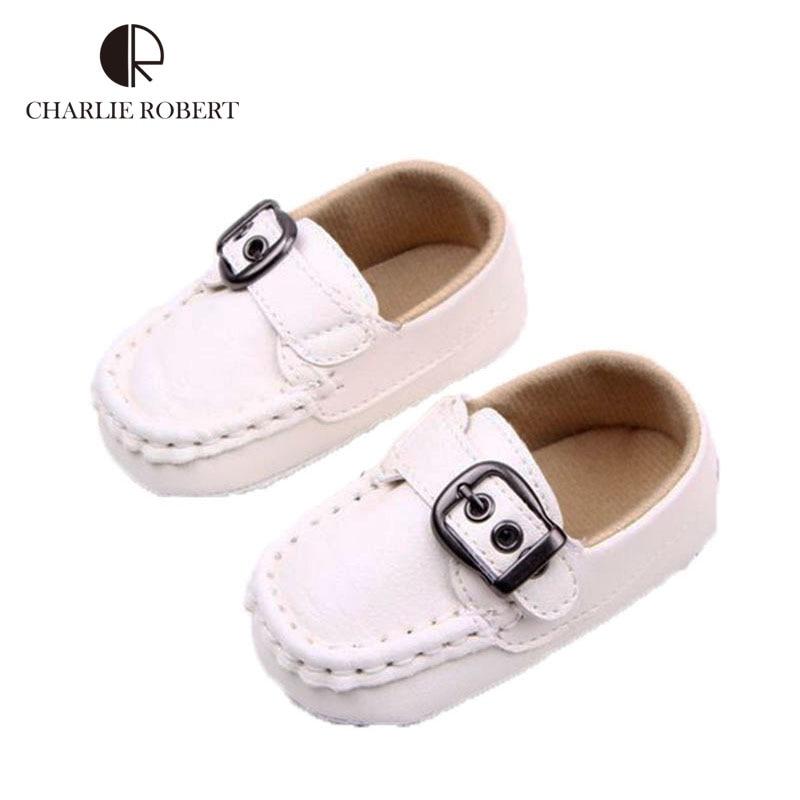 0-1 años los zapatos de bebé primeros caminante suaves del ocio mocasín gommino