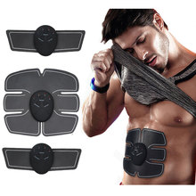 EMS Wireless Muscle Stimulator Trainer Smart Fitness Abdominal Training Electric Weight Loss Stickers Body Slimming Belt Unisex gel for ems muscle stimulator trainer smart fitness abdominal training electric weight loss stickers body slimming belt