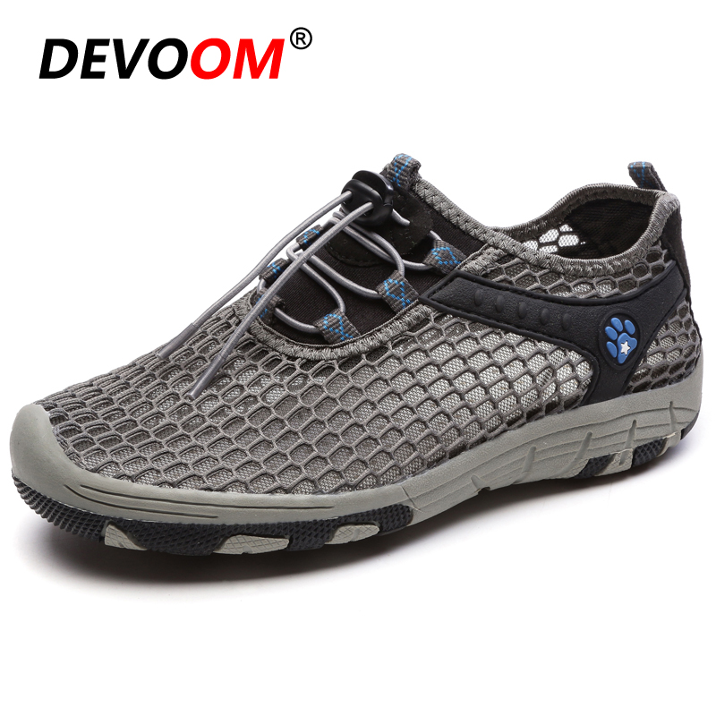 DEVOOM New Breathable Men&mujer Shoes Comfortable Soft Walking Casual Shoes Lightweight Outdoor Travel Shoes Unisex  Male Sapato