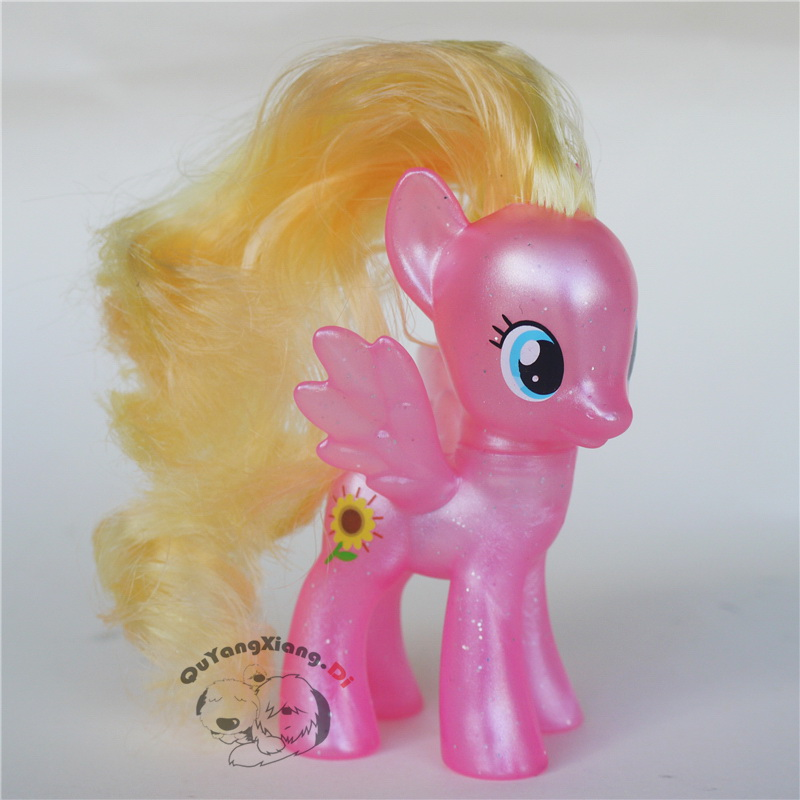 P8-043 Action Figures 8cm Little Cute Horse Model Doll sunflower Brilliant Anime Toys for Children(China)