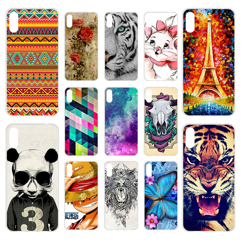 For Huawei Y6 Pro 2019 Case Huawei Honor Play 8A Case Soft Silicone TPU Cover Phone Case Huawei Y 6 Pro 2019 Y6Pro Y62019 6 09 in Fitted Cases from Cellphones Telecommunications