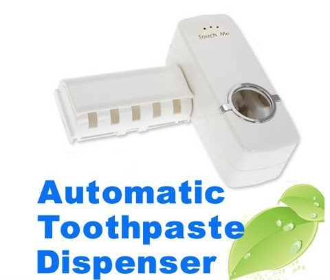 Hands Free Automatic Toothpaste Dispenser Brush Holder