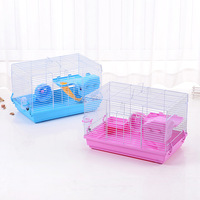 Hot Assemble Guinea Pig Cage That Travel Hamster House Big Space Small Pet Cage Hamster Accessories Hedgehog Supplies