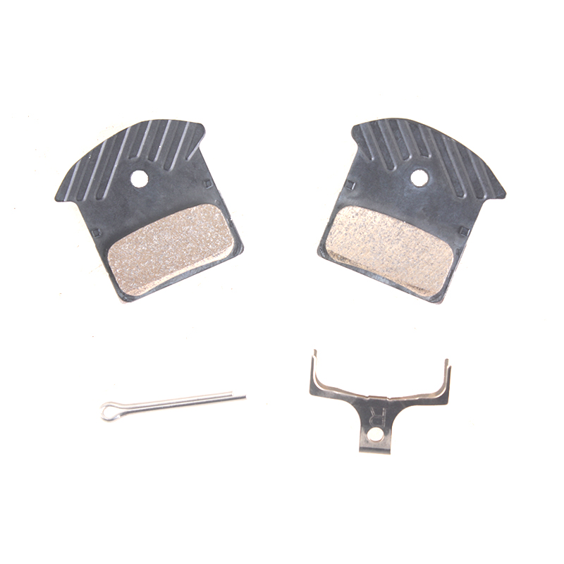 <font><b>SHIMANO</b></font> J02A RESIN <font><b>Brake</b></font> Pads with cooling fins compatible with <font><b>Brake</b></font> M615/M6000/SLX M675/M7000/<font><b>XT</b></font> M785/<font><b>M8000</b></font>/M9000/M9020 image