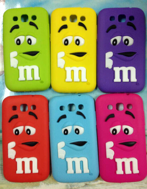 Favori Soft Rubber Case For Samsung Galaxy Core Prime Cute M&M'S  WM77