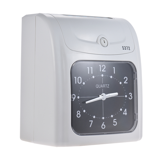 electronic employee time clock recorder attendance time card machine for office factory warehouse time recording - Time Card Machine