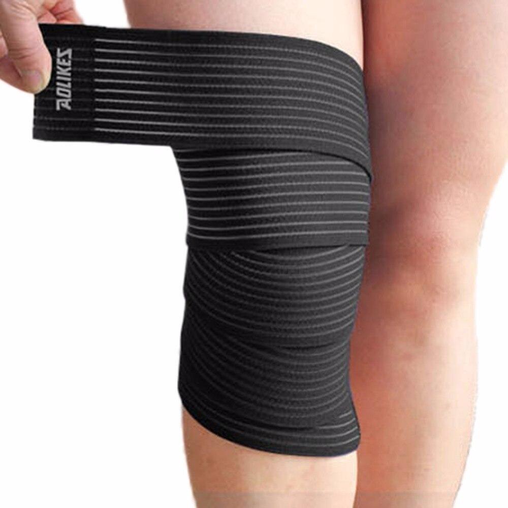 2018 наручные колено лодыжки Arm Поддержка Профессиональный полосы бинты Брейс сжатия штамм растяжение связок совместное Новый