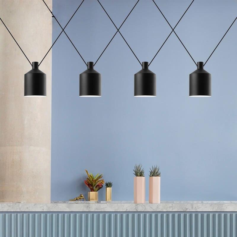 Livewin Modern Pendant Lights loft Hanging Lighting Cord Hanglamp Foyer Avize Dining room Kitchen Fixtures Suspension Luminaire