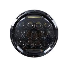 FADUIES 75W 7'' Led Headlight H4 H13 High Low Beam Round Cars Running Lights 12V For Jeep Lada urban Niva 4x4 motor Motorcycle(China)