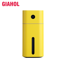купить GIAHOL 180ml Mini portable Ultrasonic Air Humidifier USB Super Mute Aroma Diffuser car Home Air freshener With LED Night Light дешево