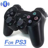 Gamepad sem fio bluetooth joystick para ps3 controlador sem fio console para playstation 3 jogo almofada joypad jogos acessórios