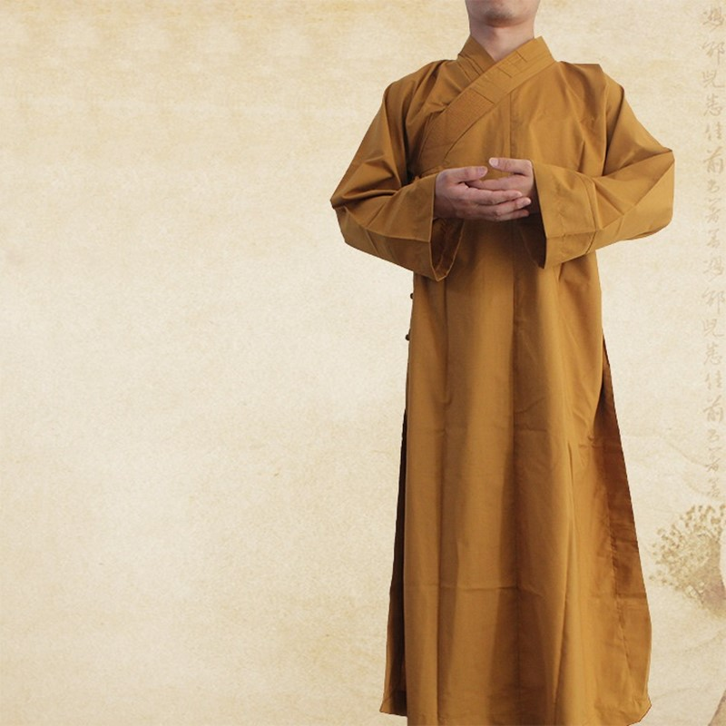 Robes de moine bouddhiste bouddhiste vêtements shaolin monk peignoirs nouvelle chinois shaolin moine vêtements shaolin uniforme AA007