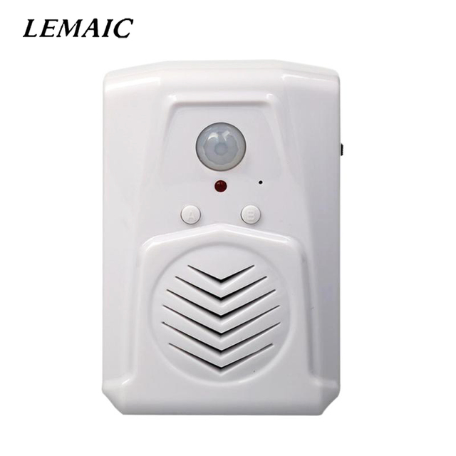 MP3 Infrared Audio Doorbell Wireless PIR Motion Sensor activated Micro Sound Shop Welcome Door Bell Entry  sc 1 st  AliExpress.com & MP3 Infrared Audio Doorbell Wireless PIR Motion Sensor activated ...