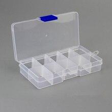 MIRUI 10 слотов plasticdesk Клип держатель, цвет случайный Для Хранения Чехол Органайзер съемный коробка для хранения сережек