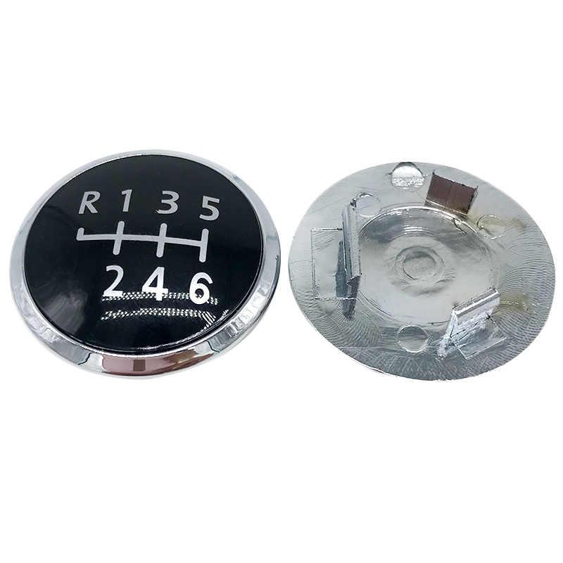 5 / 6 Speed Pookknop Embleem Cap Cover Vervanging Voor Volkswagen Vw/Transporter T5 T5.1 Gp 2003- 2011 Auto Accessoires