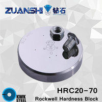 Rockwell HRC Scales C Metallic Rockwell Hardness Reference Blocks HRC20 70 Hardness Test Standard Block For