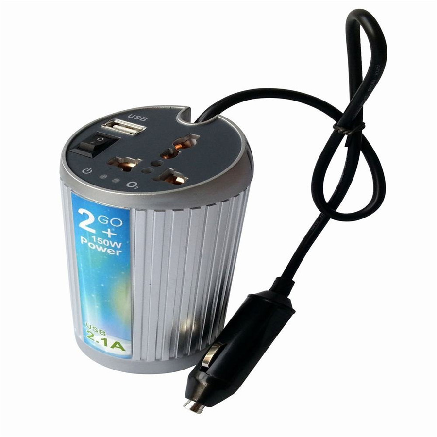 Dc 12v To Ac 110v 150w Sine Auto Car Wave Power Inverter Protector Alternating Current Contactor Energysaving Circuit Automotive Within The Scope Of All Kinds Electrical Appliances Such As Iphone Ipad Ipod Macbook Laptop Tv Refrigerator Energy Saving Lamps