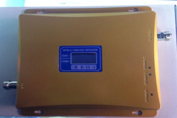 Affichage LCD DCS 1800 MHz CDMA 850 Mhz double bande téléphone portable Booster de Signal téléphone portable 2g 3g wifi 4G LTE répéteur de Signal + antenne - 2