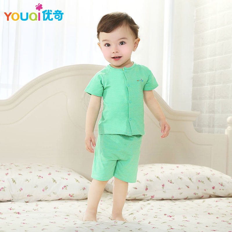 Youqi Baby Boy Clothes Summer Baby Girl Clothing Set Elastic 3 6