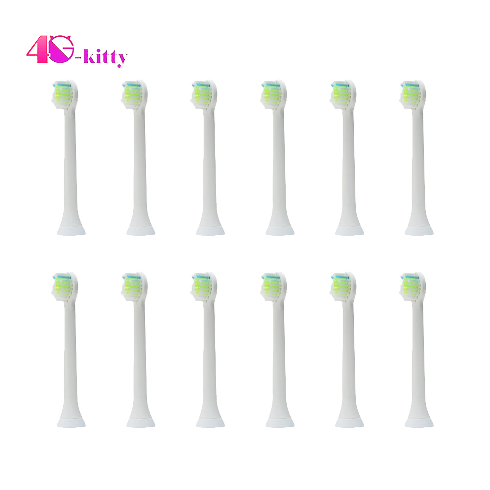 Sonicare HX6074/16 DiamondClean for Philips Electronic Toothbrush Head Mini Sonic Toothbrush Heads (Pack of 12 pcs ) image