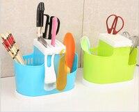Hot Sale Multifunction Kitchenware Organizer Creative Kitchen Accessories PP Knife Holder Free Shipping