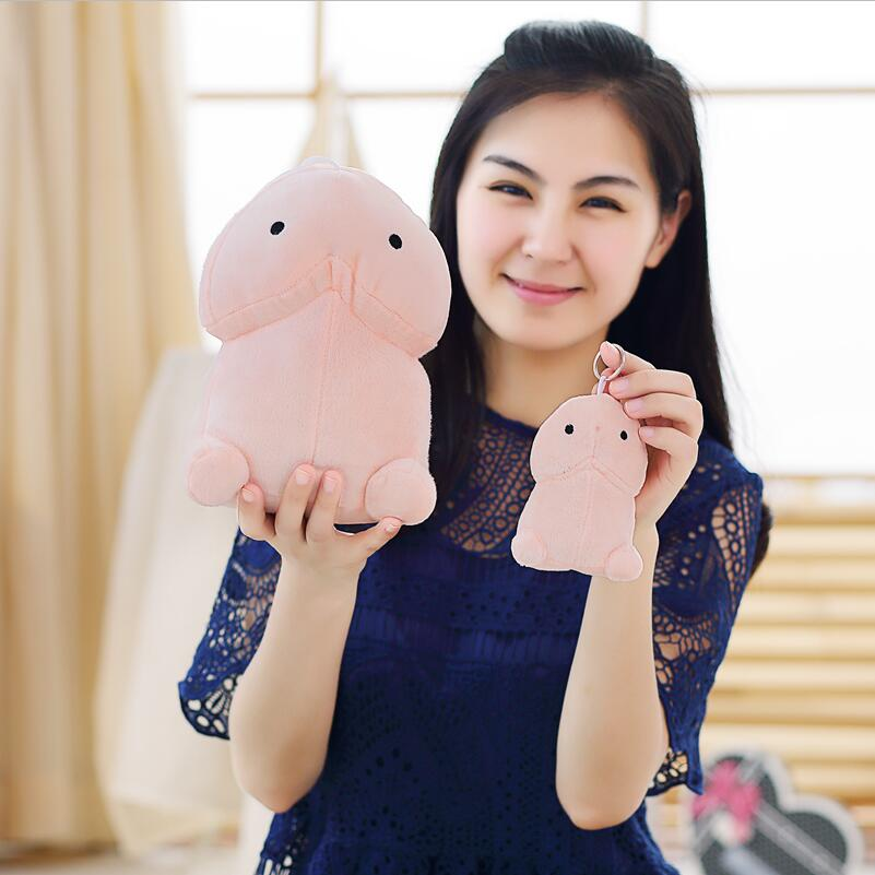 20cm Creative Plush Penis Toy Doll Funny Soft Stuffed Plush Simulation Penis Pillow Cute Sexy Kawaii Toy Gift for Girlfriend 1pcs 8 20cm natsume yuujinchou nyanko sensei plush cat anime doll toy xmas christmas gift