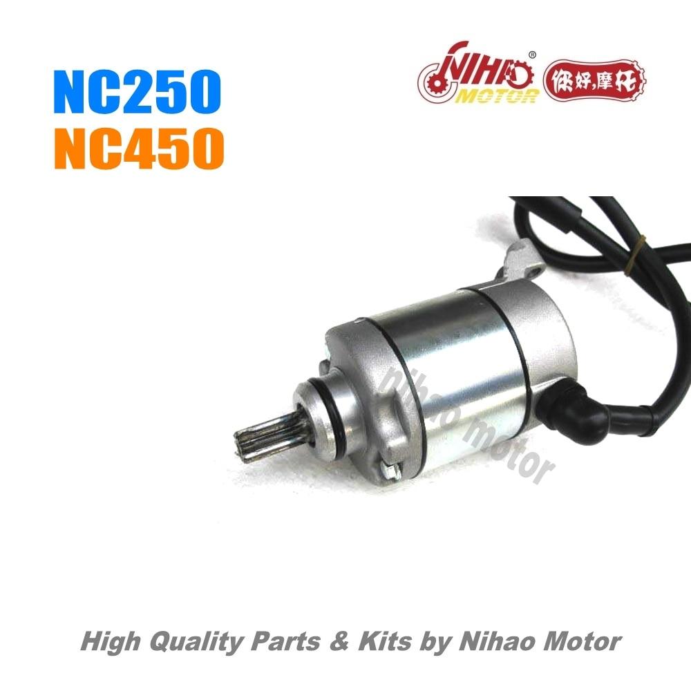 45 NC250 pièces démarrage moteur ZONGSHEN moteur NC RX3 ZS177MM (moteur Nihao) KAYO Motoland esb Megelli Asiawing Xmoto