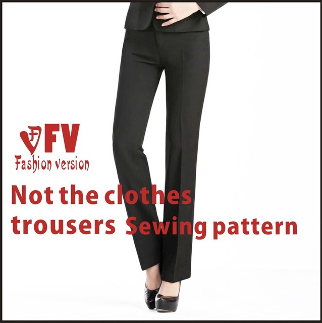 panty Pants sewing pattern The trousers pattern(Not the pants) BCK ...