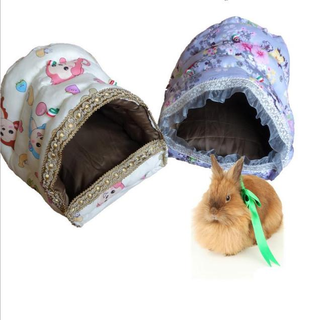 1pc New Hammock For Ferret Rabbit Rat Hamster Squirrel Parrot Hanging Bed Toy House 2 Sizes D404