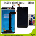 5.5inch 1920x1080 Hongmi Note 2 LCD screen display+ touch digitizer Replacement For Xiaomi redmi Note 2  lcd complete+free tools