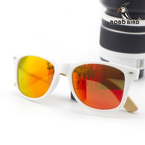 Image 5 - BOBO BIRD Bamboo Sunglasses Women Polarized Sun Glasses Man Mirror gafas de sol with Wooden Gift Box CG007 Dropshipping OEM
