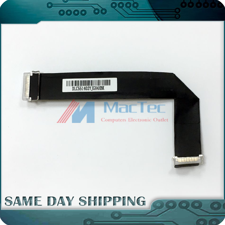Genuine New for Apple iMac 21.5 A1418 LCD LVDS VIDEO DISPLAY CABLE P/N 923-0281 Late 2012 Early 2013 Late 2013 Mid 2014 new original lvds lcd display screen flex cable for apple imac 27 923 0308 md095 md096 a1419 12 13year hk post free shipping