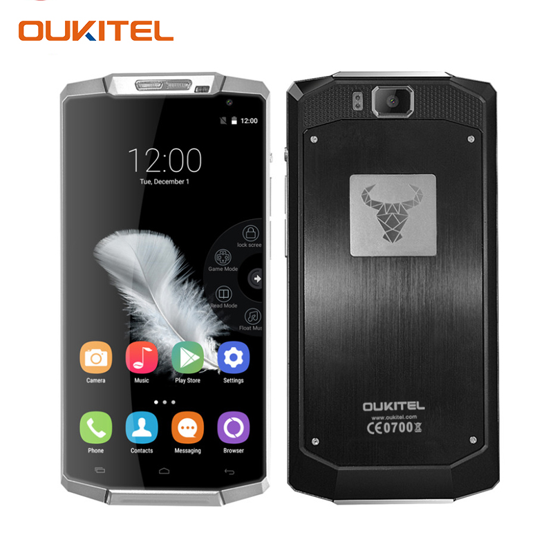 Oukitel K10000 Android 5.1 Smartphone 5.5 inch Mobile Phone Quad Core MTK6735P 2GB RAM 16GB ROM 10000mAh 4G FDD LTE Cell Phone