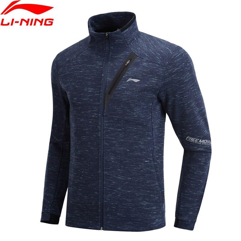 (Break Code)Li-Ning Men Training Sweater Cotton Regular Fit Hoodie Zipper Closure Li Ning LiNing Sport Coat AWDP145 MWW1551
