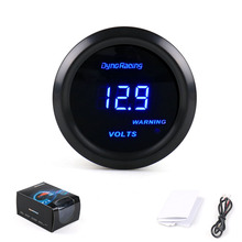 2  /52mm Digital led volts gauge /auto gauge/auto meter/car meter/auto parts