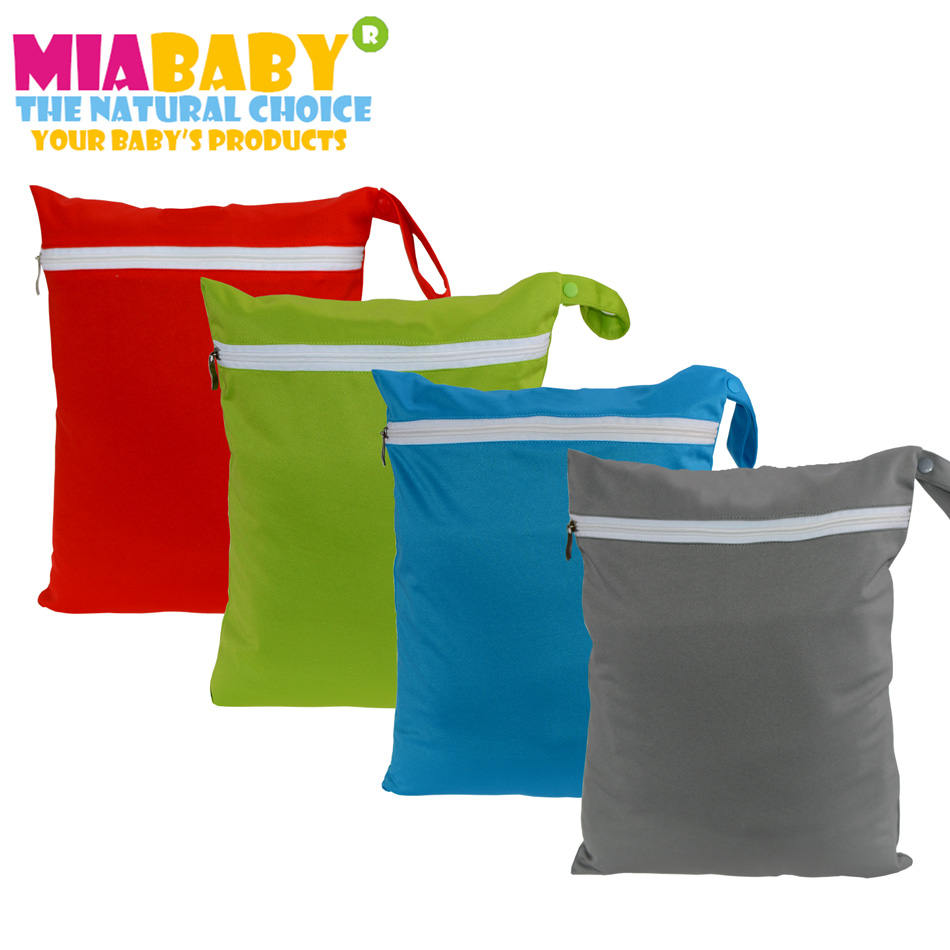 Miababy  1pcs Wetbag With Handle