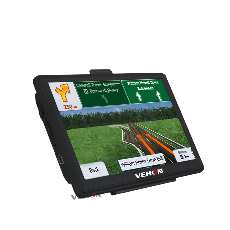 VEHON 7 inch HD Car GPS Navigation Capacitive Screen FM Bluetooth AVIN Navitel Europe Sat nav Truck gps navigator automobile