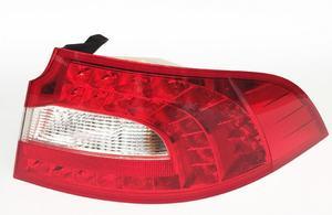 Image 2 - Lampa zderzaka dla doskonałego tylnego światła, 2009 ~ 2013;LED, akcesoria samochodowe, Super tylne światło, doskonałe światło przeciwmgielne; Octavia,Fabia, Superb