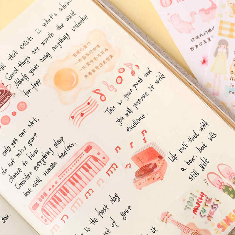 65*35 мм Вишневый цветок летняя Серия васи Маскировочная Лента наклейки Скрапбукинг пуля joural декоративные школьные принадлежности