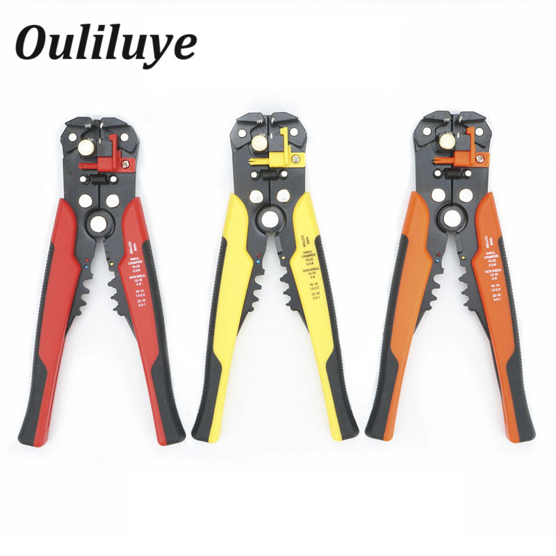 Wire Cable Stripper Cutter Crimper Automatic Multifunctional Terminal Stripping Pliers Cutting Multitool Pliers Hand Tool 2016 hd h 264 mpeg 4 real video car digital tv receiver box with dual antenna support high speed over 160km hour