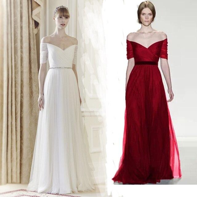Aliexpress.com : Buy Silk Taffeta Wedding Dress Fashion