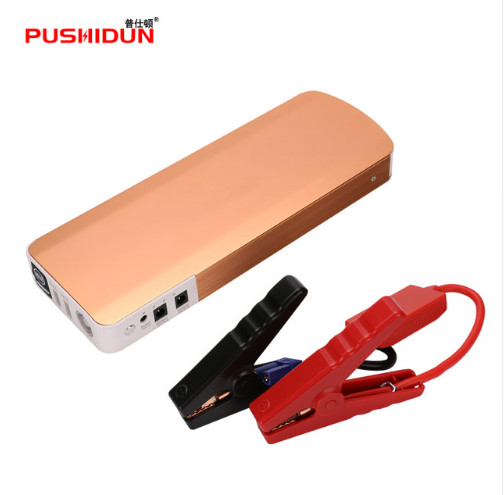 Mini Portable Car Jump Starter 18000mah Emergency Start 12V Petrol&Diesel Engine Multi-Function 4 USB Power Bank Battery Charger 2017 30000mah 12vportable car jump booster led charger emergency start power bank new